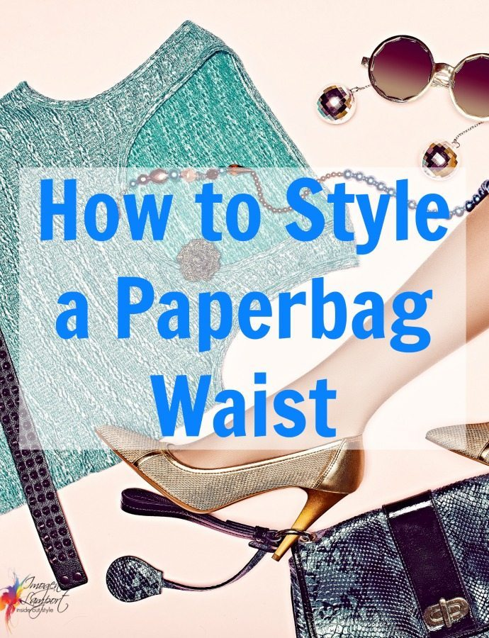 How to style a paperbag waist