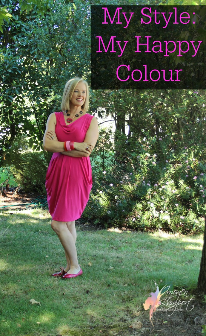 The colour that makes me happy and is an integral part of my style
