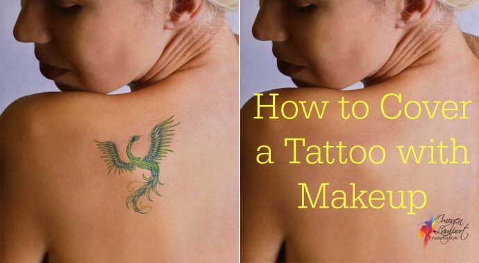 How to cover a tattoo with makeup inside out style for How to cover tattoos