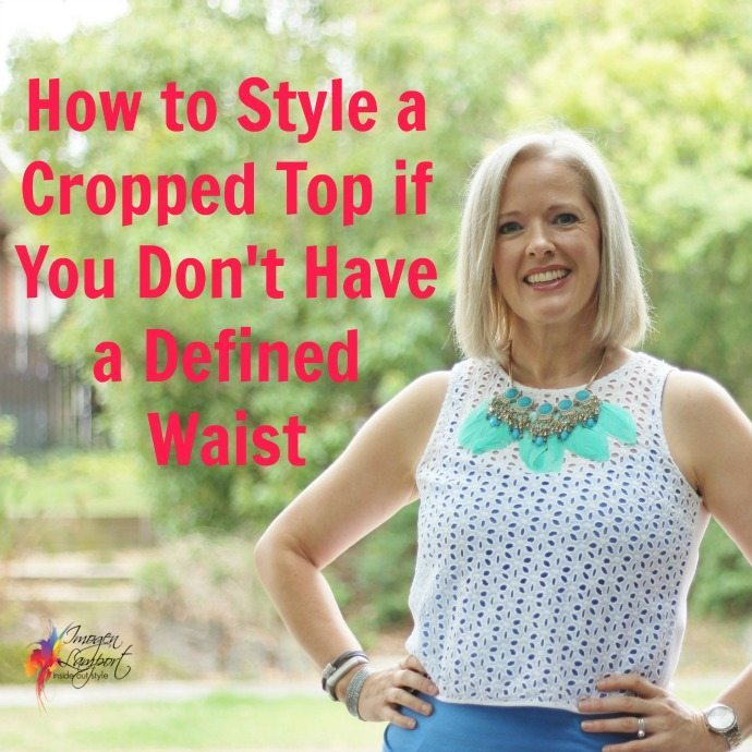 how to style a cropped top