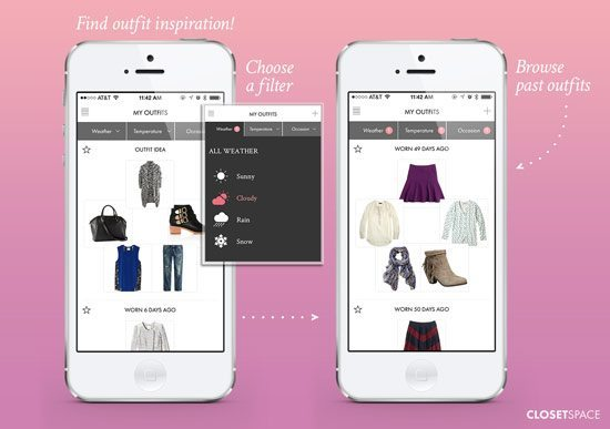 outfit planning apps closetspace