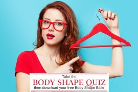 Take the body shape calculator quiz and download your free body shape bible to learn how to flatter your figure
