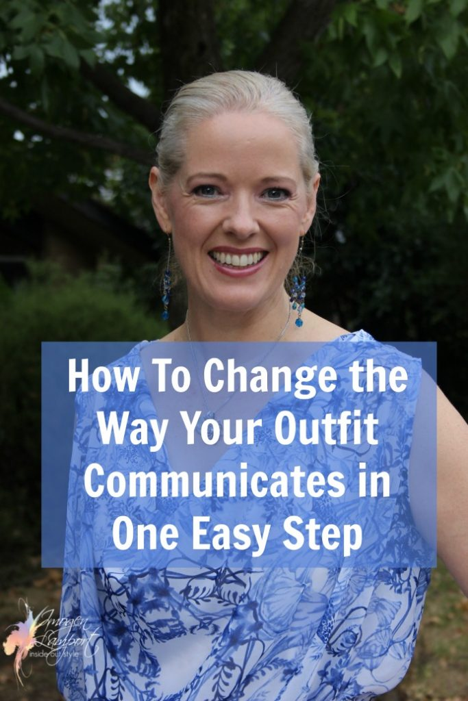 How to change the way your outfit communicates in one easy step