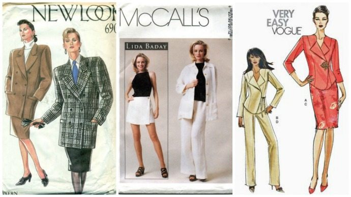 How a classic garment will change over time 1980s - 2000s