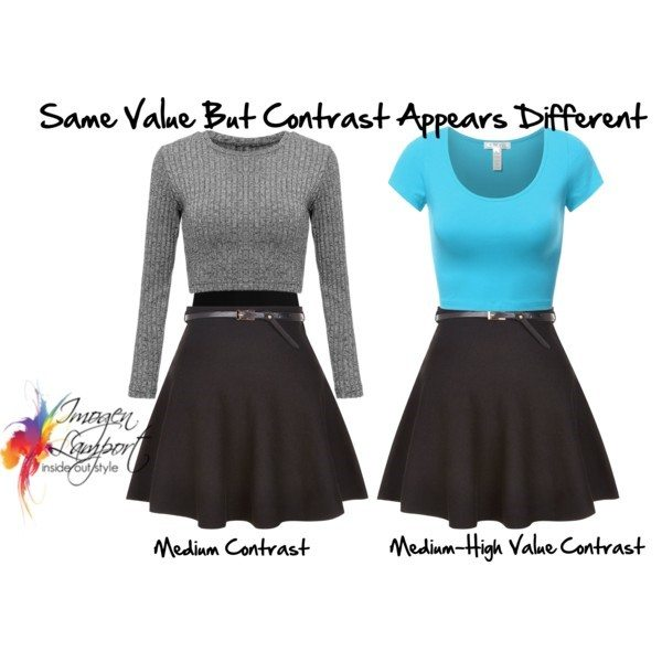 How you can change the apperance of value contrast