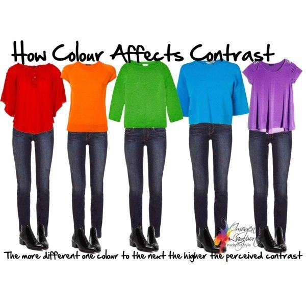 colour and value contrast explained