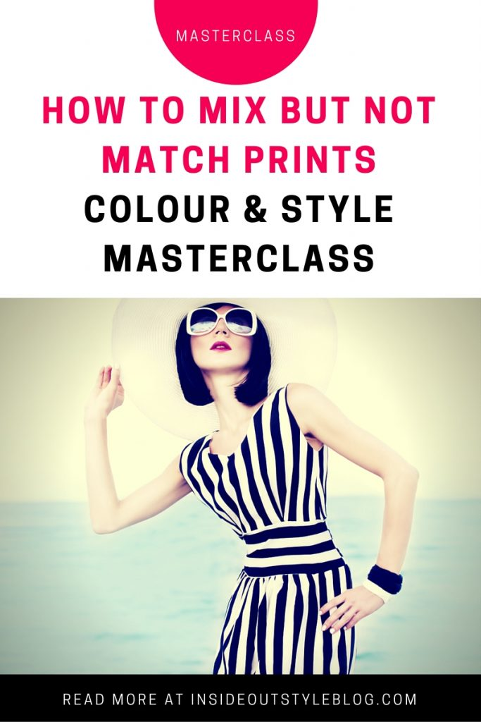 Inside Out Style how to mix but not match prints masterclass