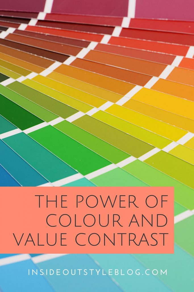 the power of colour and value contrast