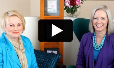 Jill Chivers and Imogen Lamport video on the topic of standing out or blending in with your style