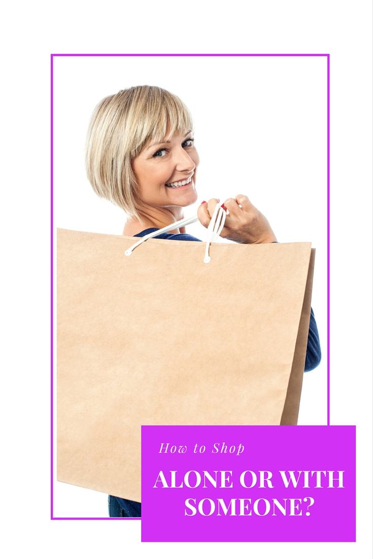 Shopping strategies how to shop - alone or with someone - video