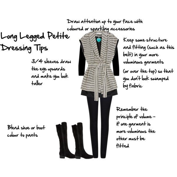How to dress if you're a long legged petite