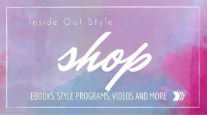 shop inside out style blog for style programs, ebooks and videos