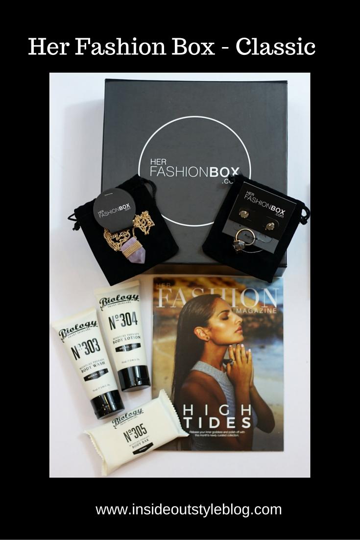Her Fashion Box - Classic - subscription box