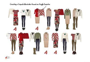 Secrets of Mixing Prints in a Capsule Wardrobe