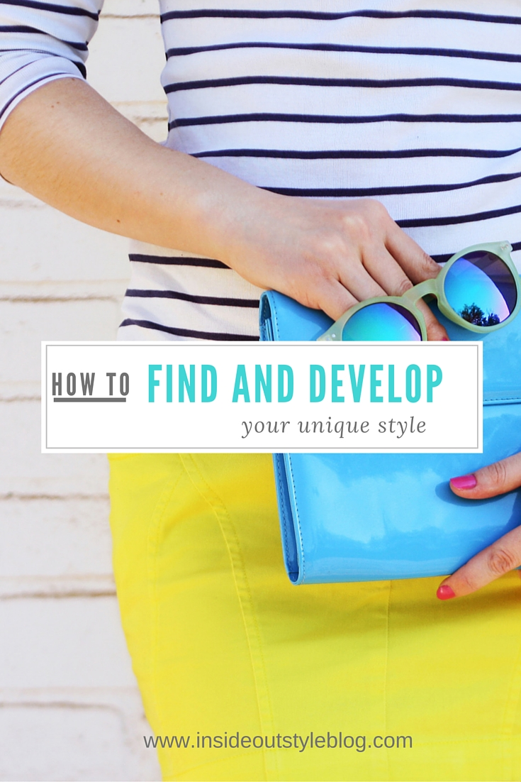 How to find and develop your unique style