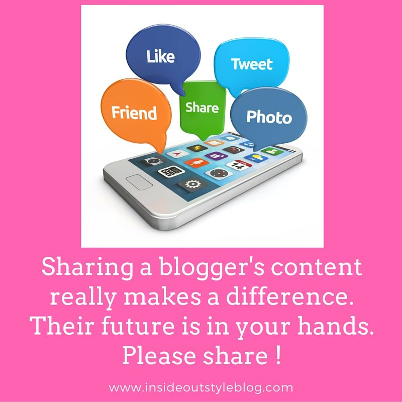Why sharing a blogger's content makes a positive impact on the world