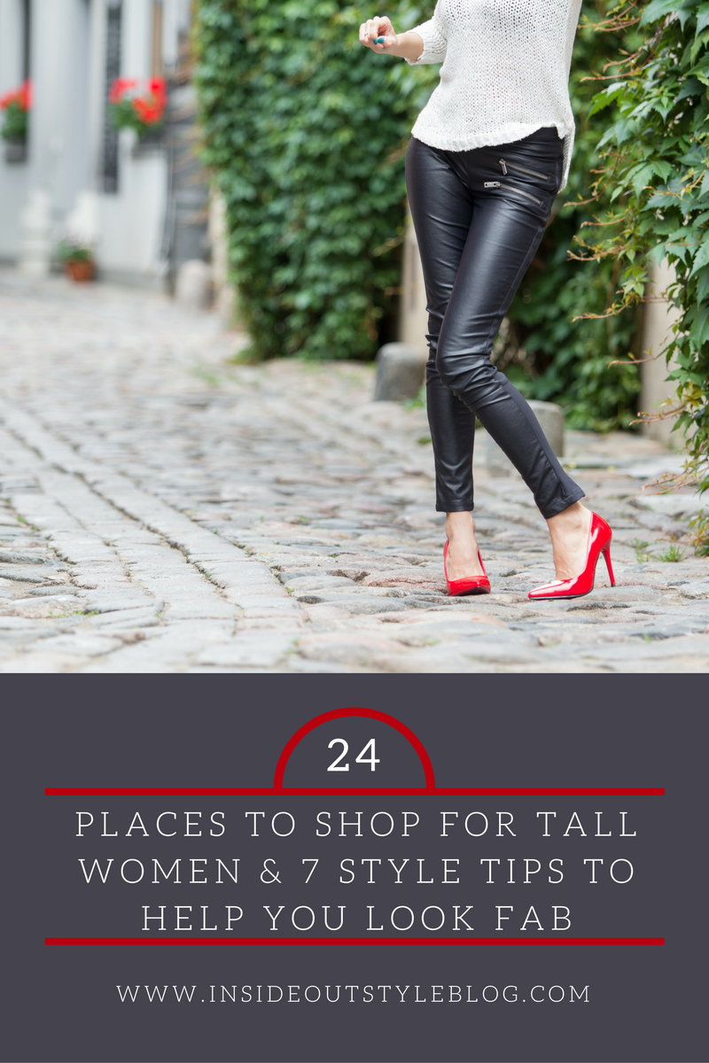What to Wear and Where to Shop as a Tall Woman