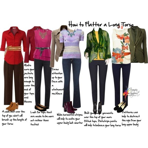 how to flatter a long torso - Inside Out Style blog