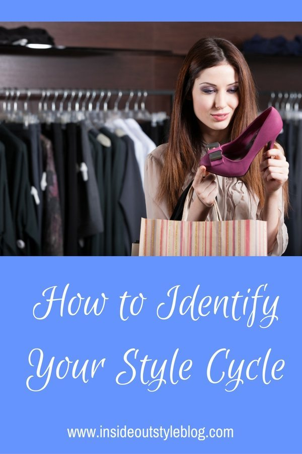 How to identify your style cycle - how frequently you need to shop for new clothes and accessories and update your wardrobe