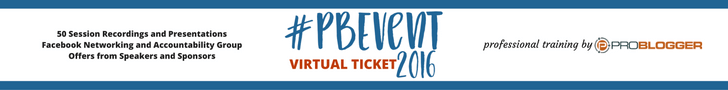 PBevent Problogger Virtual Event Tickets