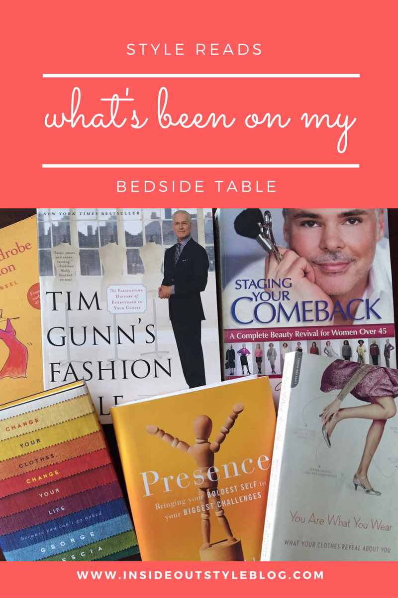 Style Reads: what's been on my bedside table