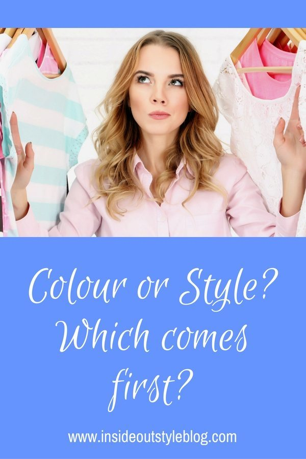 Colour or style which comes first when shopping?