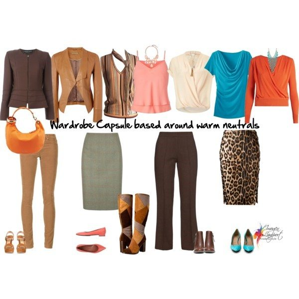 Creating a wardrobe capsule in warm colours