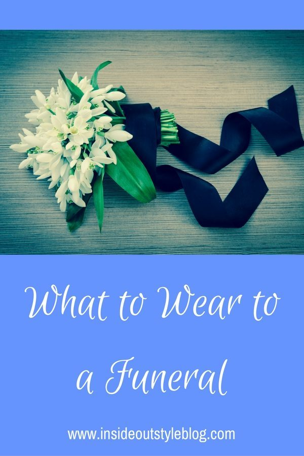 What to wear to a funeral or memorial services