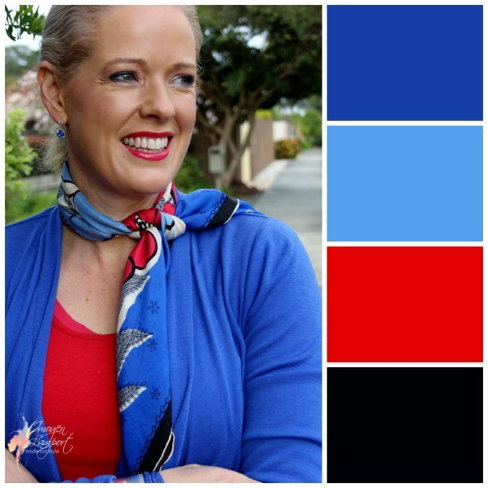 Create a colour scheme using a scarf