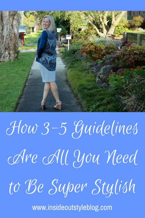How 3-5 Guidelines Are All You Need to Be Super Stylish