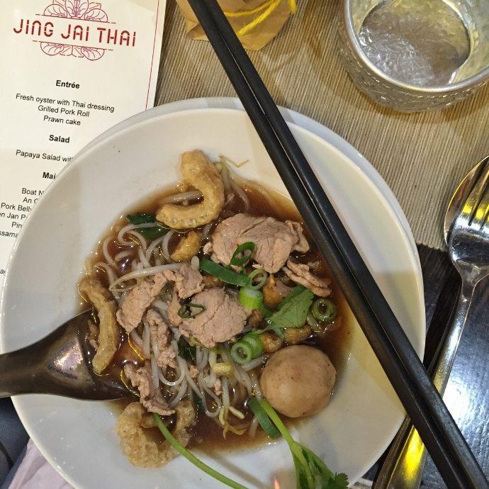 Boat Noodle Soup Jing Jai Thai Melbourne