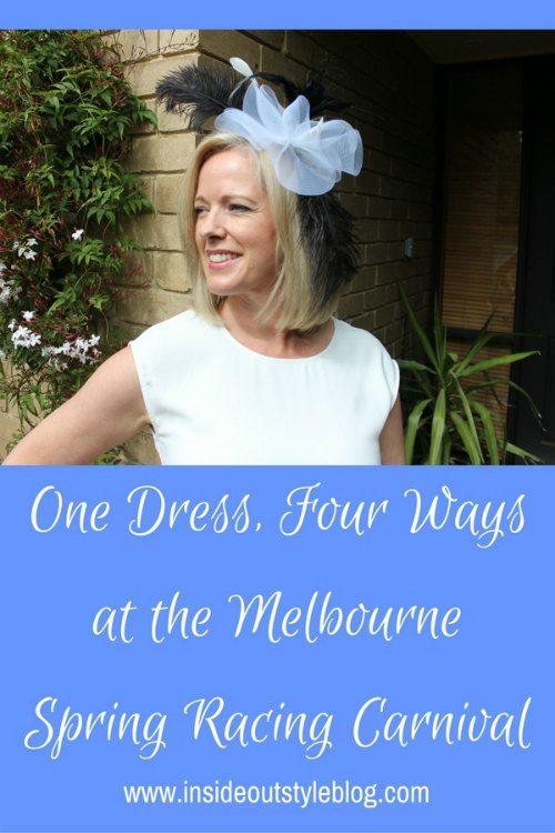 One Dress, Four Ways at the Melbourne Spring Racing Carnival