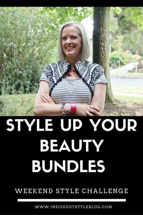 Style up your beauty bundles - weekend style challenge