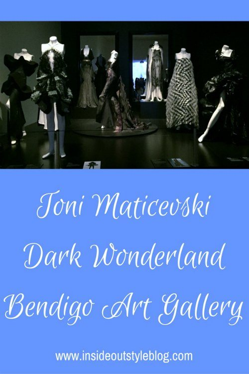 Toni Maticevski Dark Wonderland Exhibition at Bendigo Art Gallery