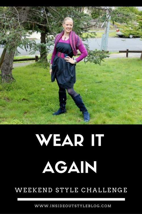 Weekend Style Challenge - wear it again - Inside Out Style Blog