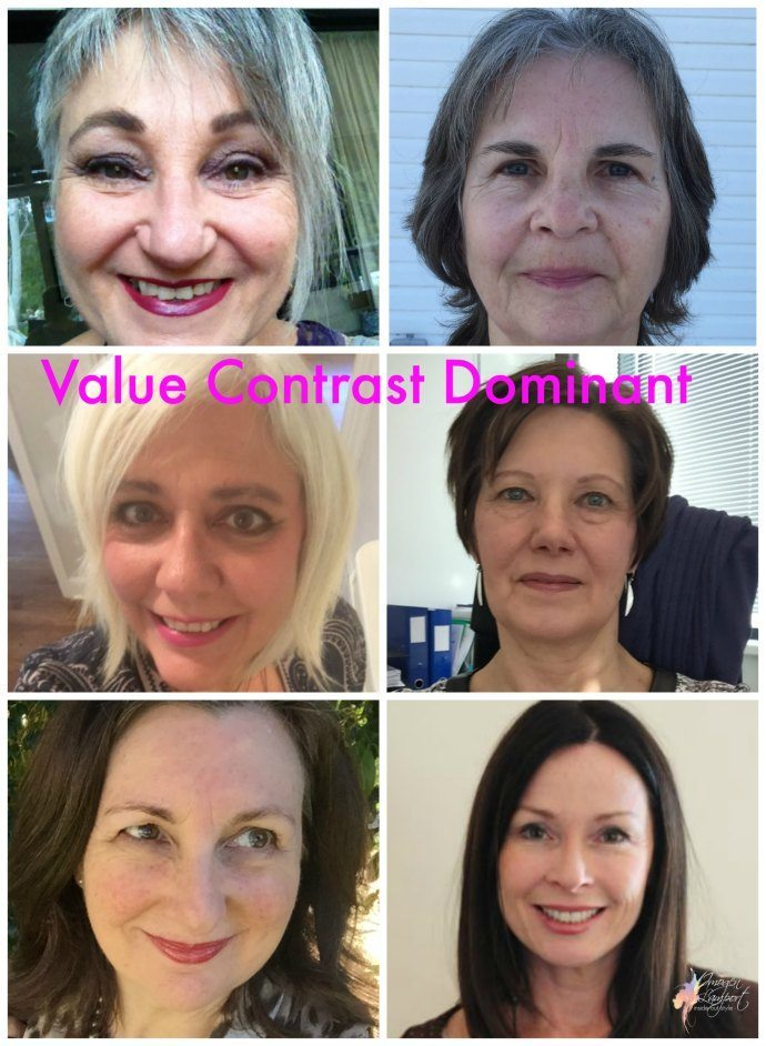 Value contrast Dominance - we notice the light and dark, but features are more neutral