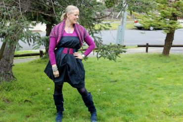 Wear It again - wearing an old skirt as a dress - weekend style challenge