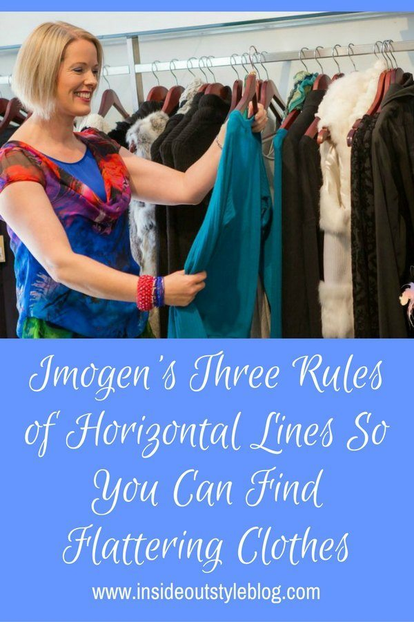 Discover Imogen's 3 Rules of Horizontal Lines So you Can Find Flattering CLothes and create gorgeous outfits