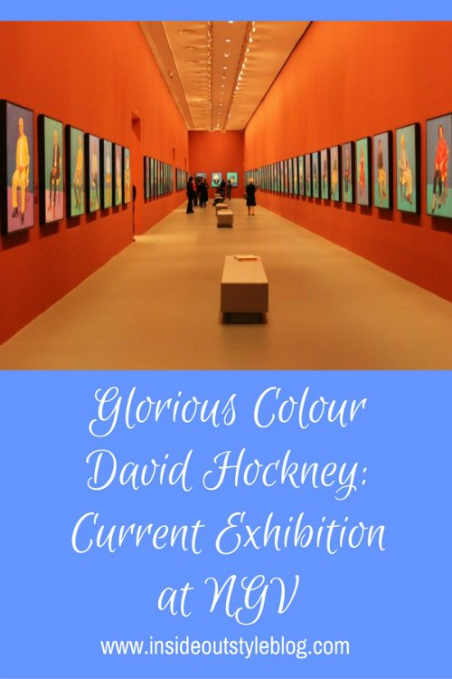 David Hockney current exhibition at NGV