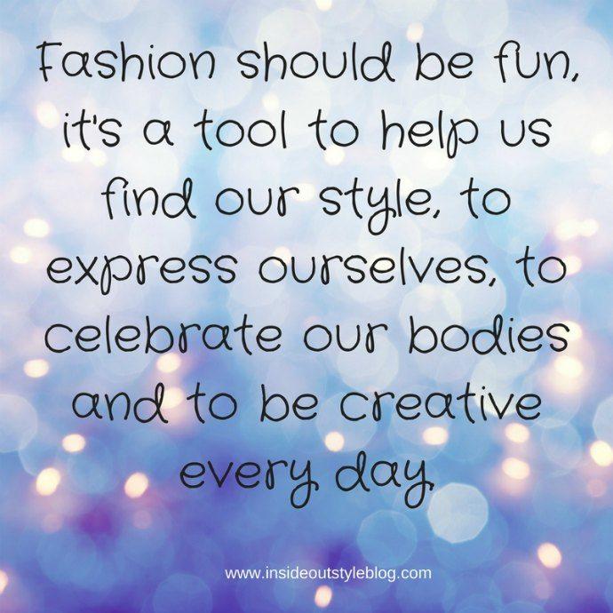 Fashion should be fun