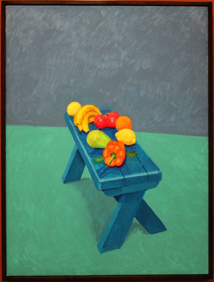 1 still life by David Hockney