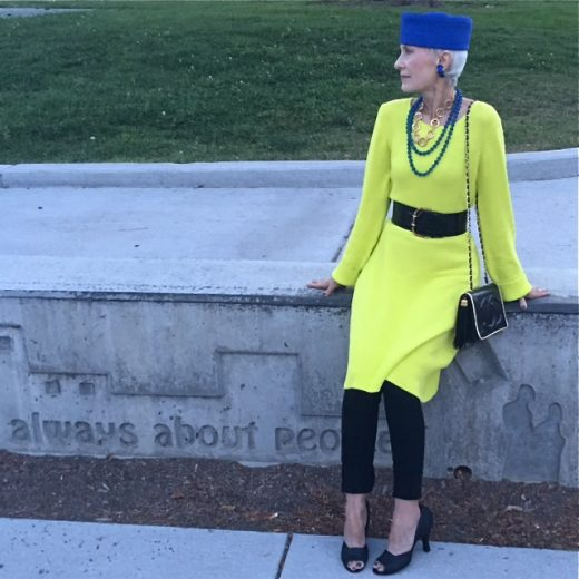Style Crone shares her Stylish Thoughts on Inside Out Style blog