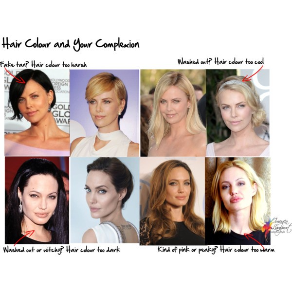 how to not look washed out with dark hair