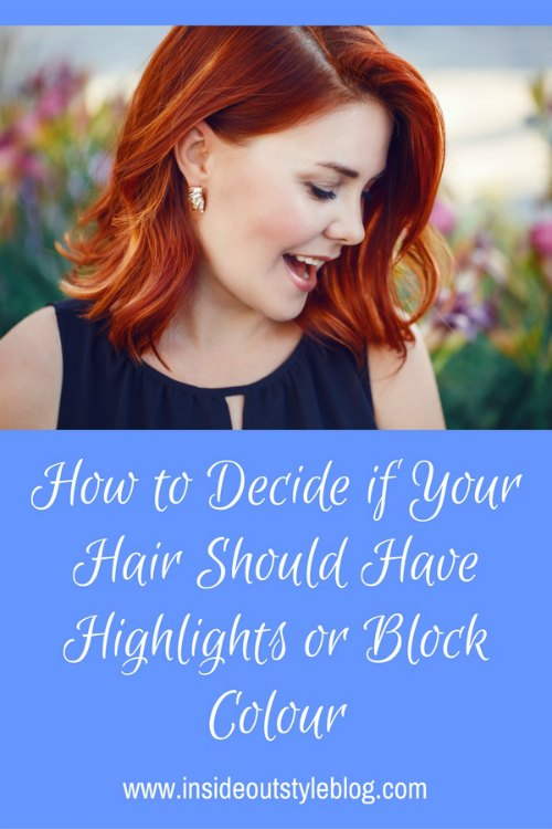 Should you have highlights or block colour hair?