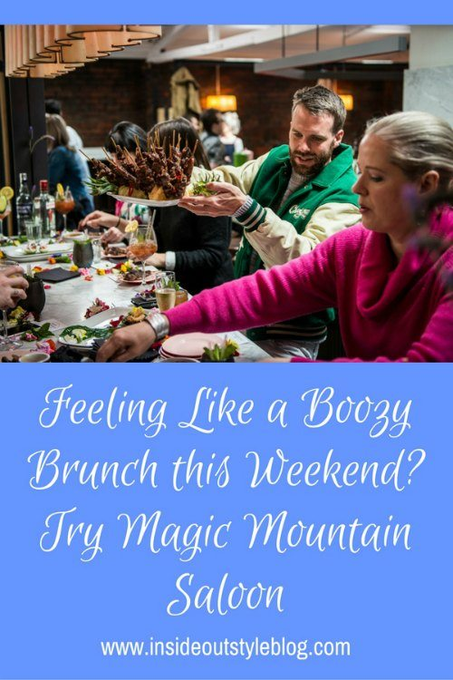 Enjoy a boozy Thai inspired brunch at Magic Mountain Saloon in Melbourne