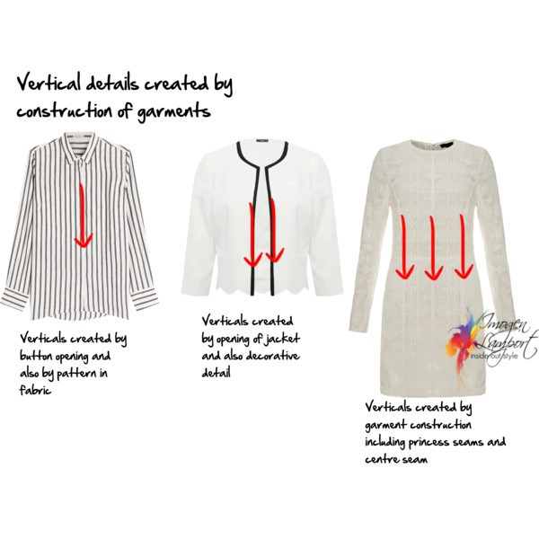 How to find flattering clothes - understanding the impact of verticals