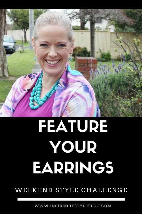 Feature your earrings weekend style challenge
