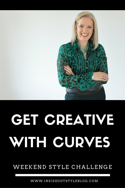 Get creative with curves - weekend style challenge from Inside Out Style