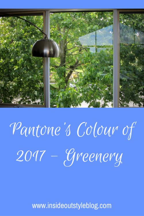 Pantone 2017 Colour of the Year - Greenery
