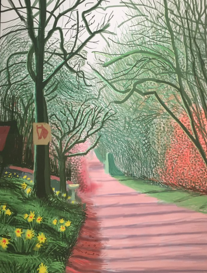 Be inspired by artist David Hockney - create an outfit in this style challenge